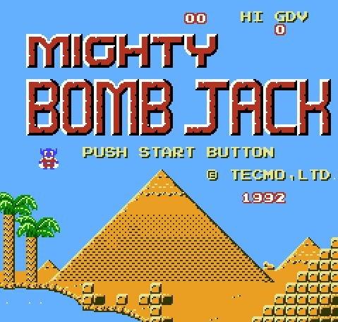 Mighty Bomb Jack, Могучий взрывник