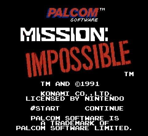 Mission Impossible, Невыполнимое задание, Миссия невыполнима