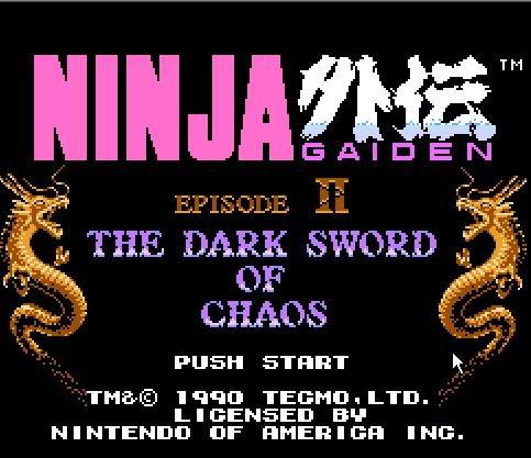 Ninja Ryukenden 2, Ninja Gaiden 2, Ниндзя: история о Мече Дракона 2