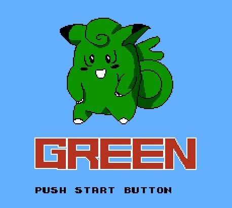 Pokemon Green, Зеленый Покемон