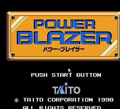 Power Blazer, Мощная вспышка