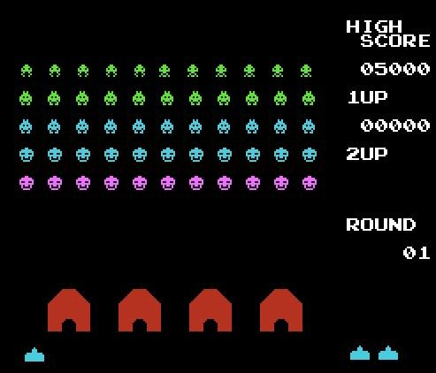 Space Invaders, Космические захватчики