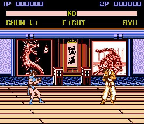 Street Fighter 12P, Уличный боец (12 бойцов)