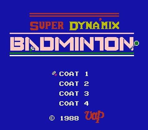Super Dynamix Badminton, Супер скоростной бадминтон