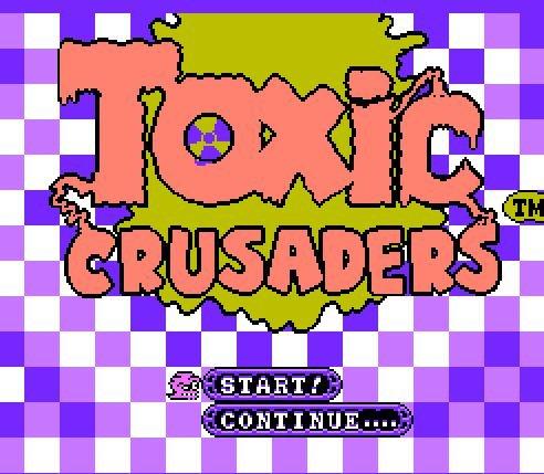 Toxic Crusaders, Крестоносцы Токсика