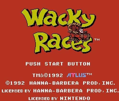 Wacky Races, Гонки Ваки