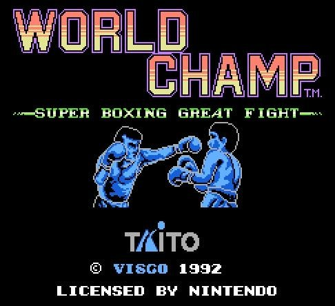 World Champ. Super Boxing Great Fight, Чемпионат Мира по боксу