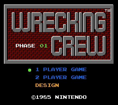 Wrecking Crew, Строй бригада