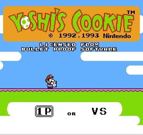 Yoshis Cookie, Печенье Йоши, Марио повар