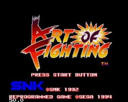 Art of Fighting, Искусство боя