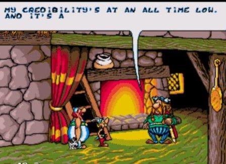 Asterix and the Power of Gods, Астерикс и сила богов