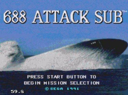 Attack Sub 688, 688 Атакующая субмарина, Подводная лодка