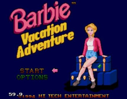 Barbie Vacation Adventure, Барби приключения на каникулах