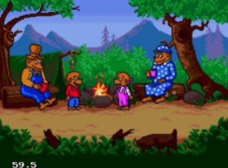 Berenstain Bears Camping Adventure, Приключение медведей