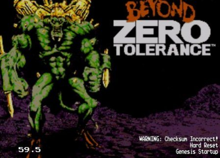 Beyond Zero Tolerance, По ту сторону нуля