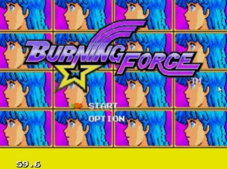 Burning Force, Сжигающая сила
