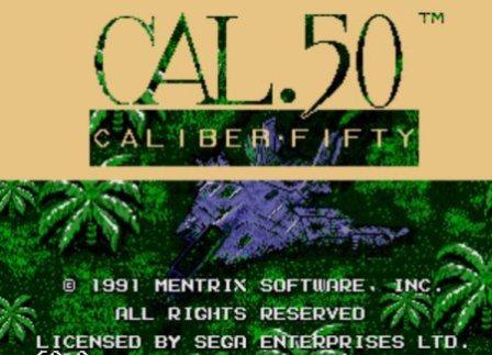 Cal. 50, Калибр 50