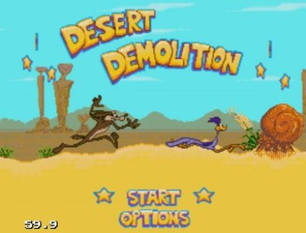 Desert Demolition, Страус и койот