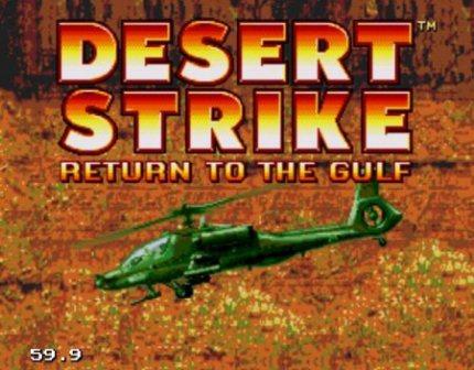 Desert Strike, Битва в пустыне