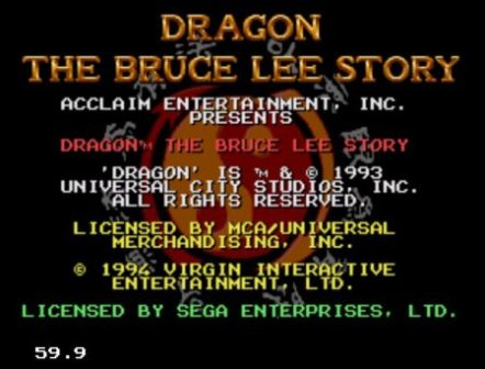 Dragon: the Bruce Lee Story, Дракон: история Брюса ли