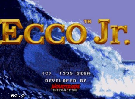 Ecco Junior, Экко-младший, игра про дельфина