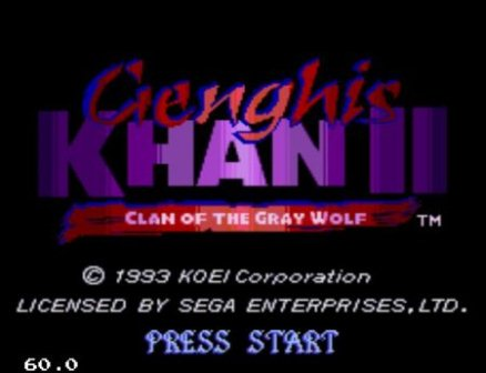 Genghis Khan 2 Clan of the Gray Wolf, Чингисхан 2