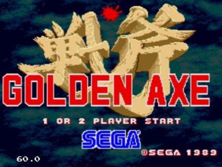 Golden Axe, Золотая секира