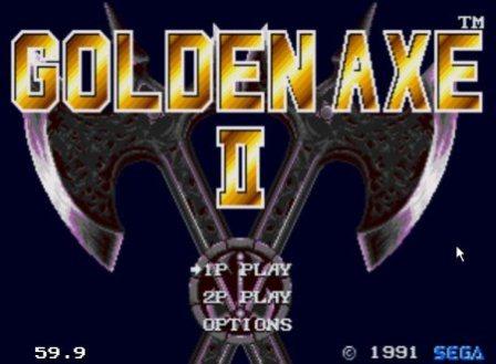 Golden Axe 2, Золотая секира 2