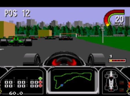 Indy Car Featuring Nigel Manshell, Индикар с Найджелом Мэнселлом