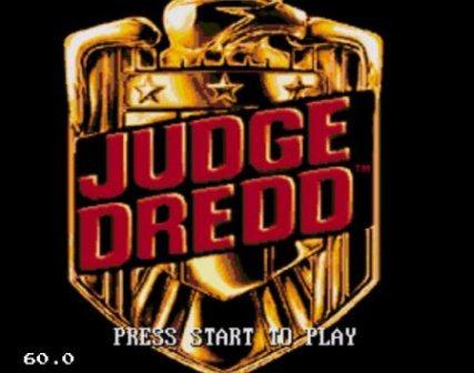 Judge Dredd, Судья Дредд
