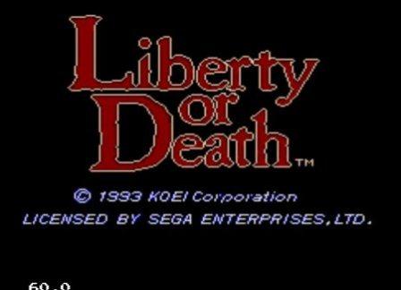 Liberty or Death, Свобода или смерть