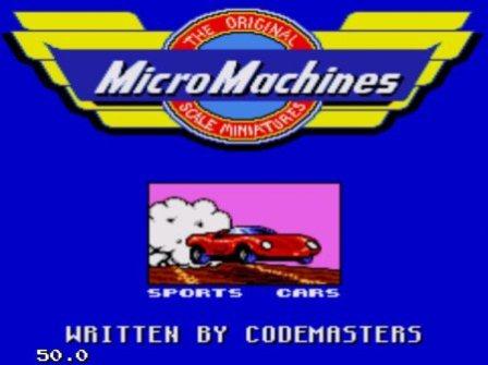 Micro Machines, Маленькие машинки