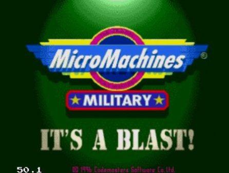 Micro Machines Military, Военный микро машинки