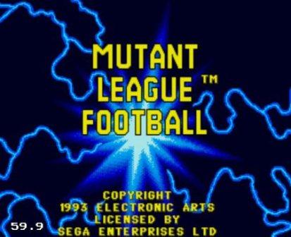 Mutant League Football, Футбольная лига мутантов