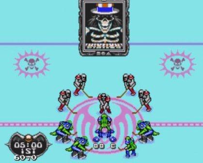Mutant League Hockey, Хоккейная лига мутантов