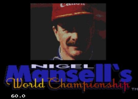 Nigel Mansell's World Championship, Чемпионат Мира с Найджелом Мэнселлом