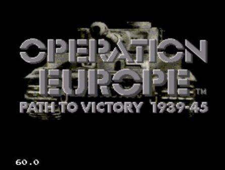 "Operation Europe, Операция ""Европа"""