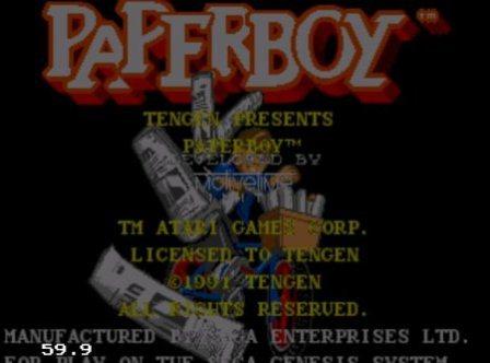 Paperboy, Почтальон