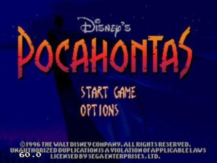 Pocahontas, Покахонтас