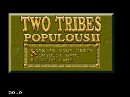 Populous 2. Two Tribes, Заселение