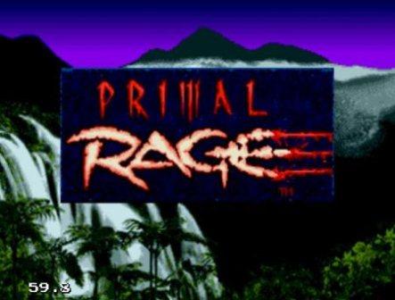 Primal Rage, Первобытная ярость