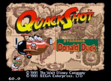 Quack Shot, Приключения Дональда Дакка