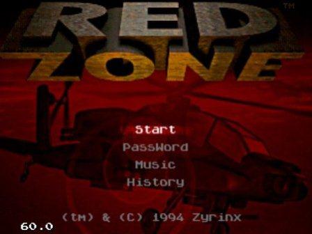 Red Zone, Красная зона