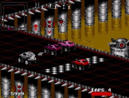 Rock' N' Roll Racing, Рок-н-рольные гонки