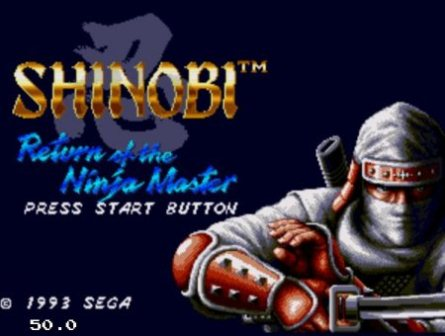 Shinobi 3: Return of the Ninja Master, Шиноби 3
