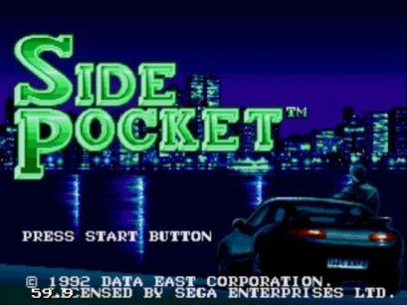 Side Pocket, Бильярд