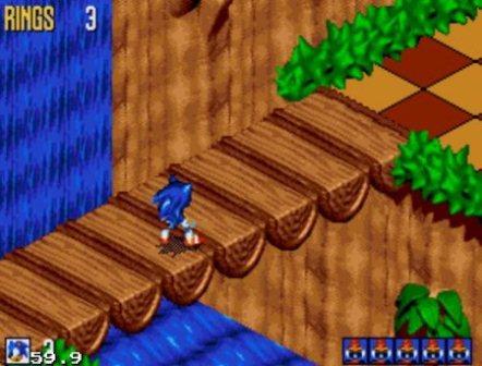 Sonic 3D Blast, Соник 3Д