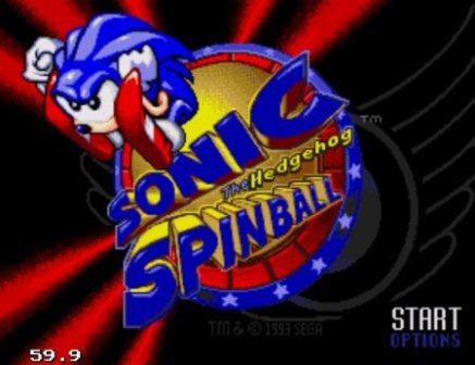 Sonic Spinball, Соник спинбол