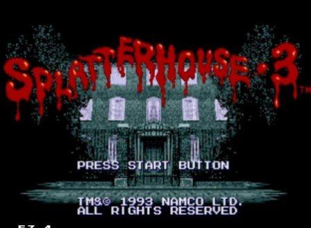 Splatter House 3, Дом ужасов 3