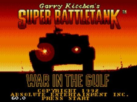Super Battletank: War in the Gulf, Супер танк: война в заливе